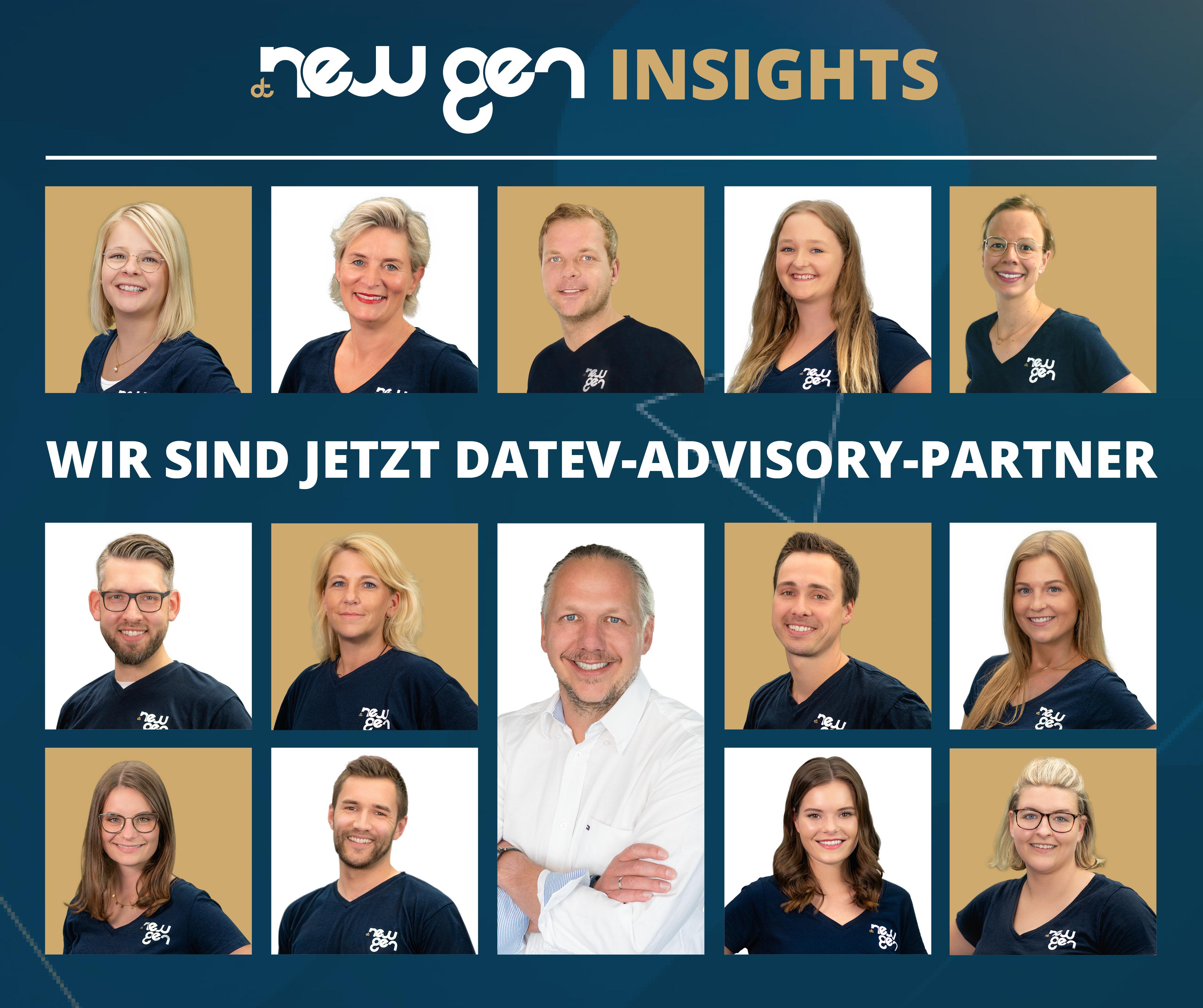 new gen ist DATEV-Advisory-Partner der etwas anderen Art