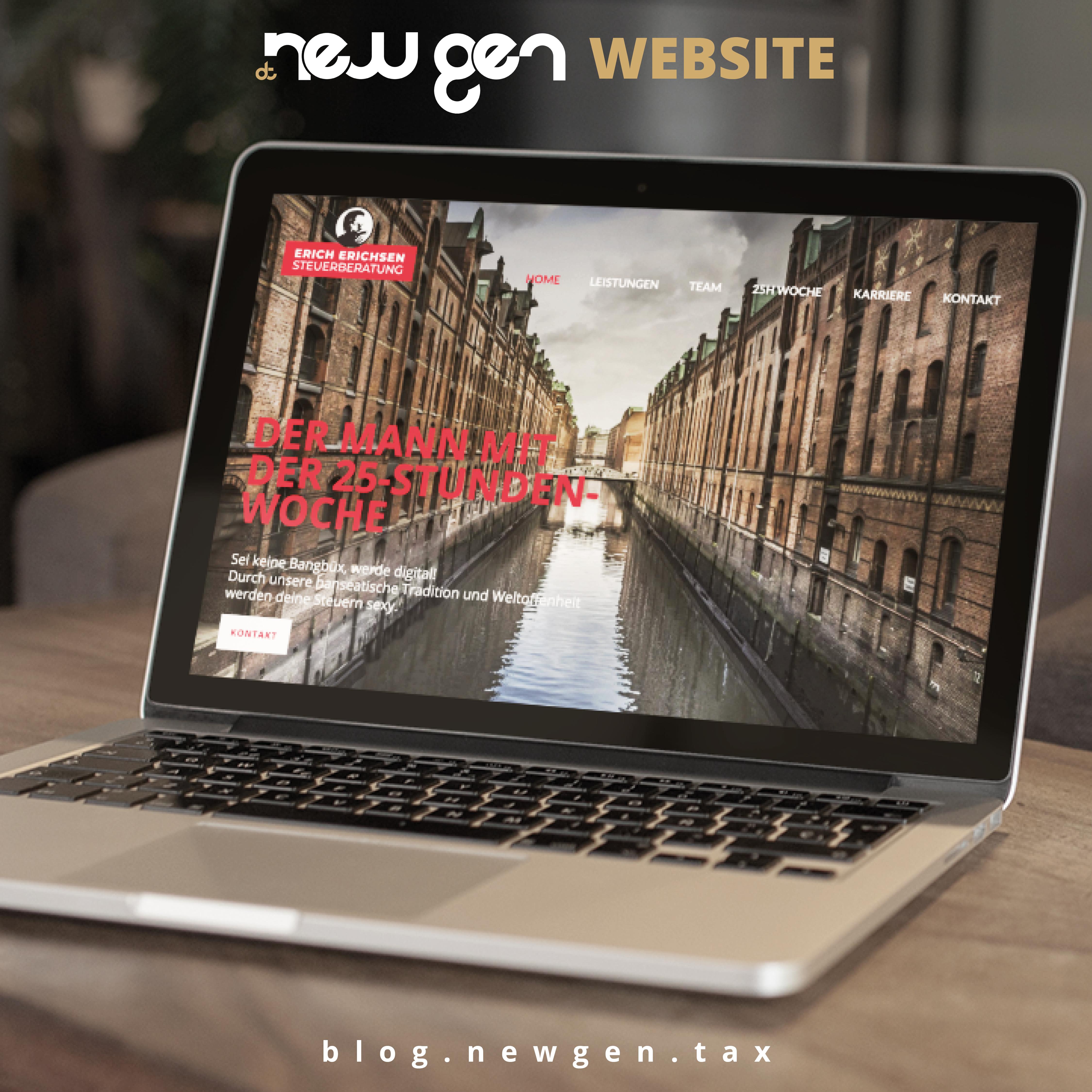 new gen Website - Erich Erichsen