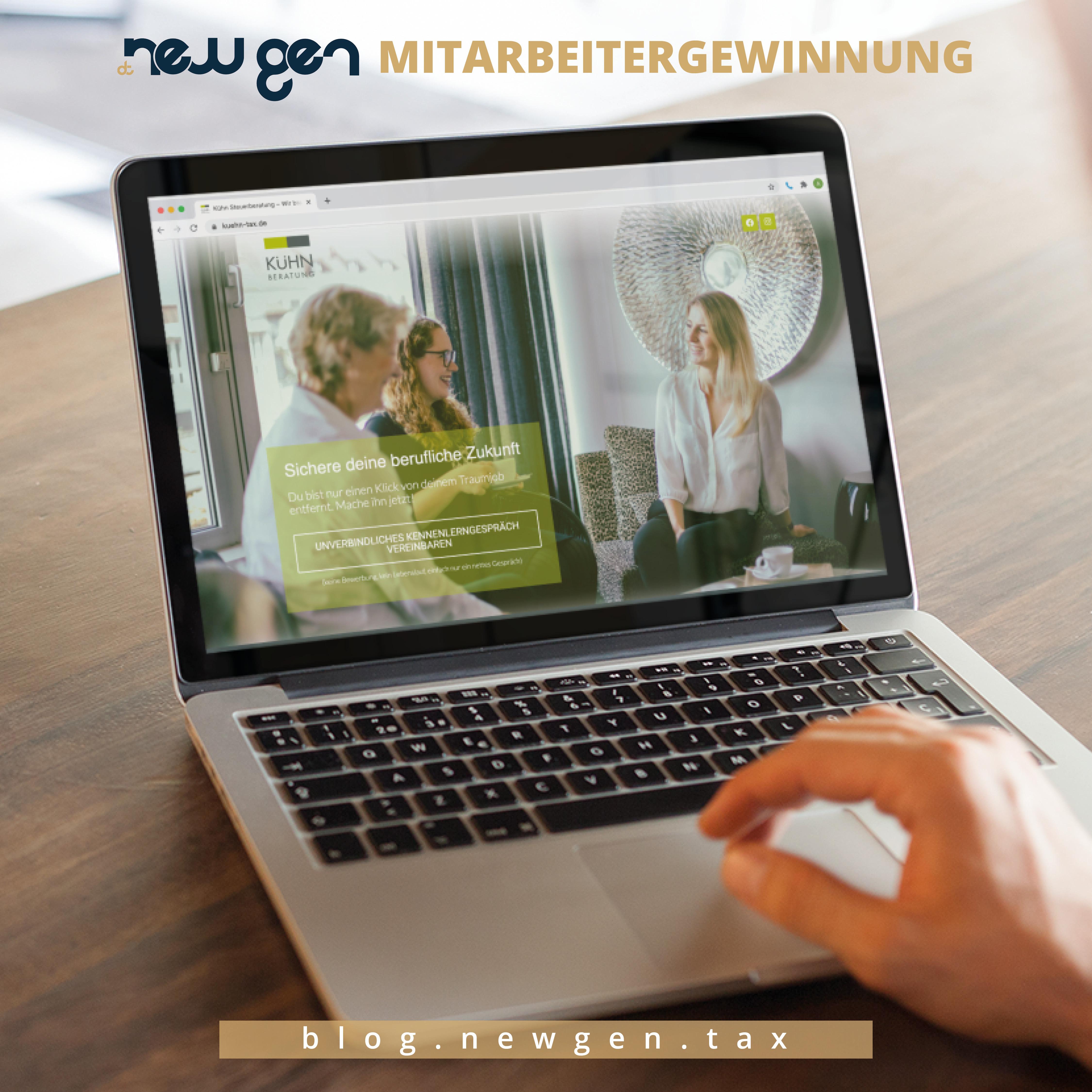 new gen Mitarbeitergewinnung -Martin Kühn