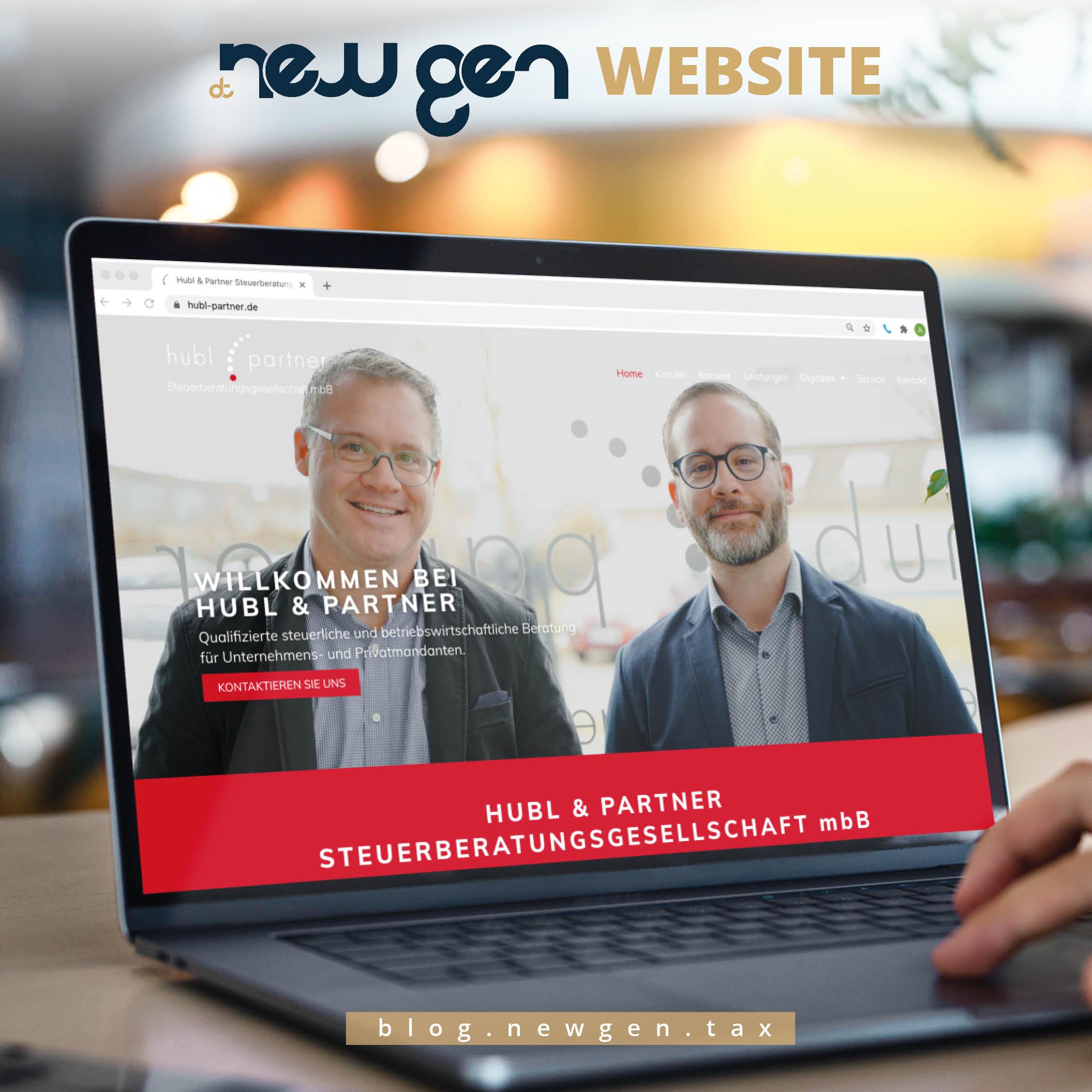 new gen Website - Hubl und Partner