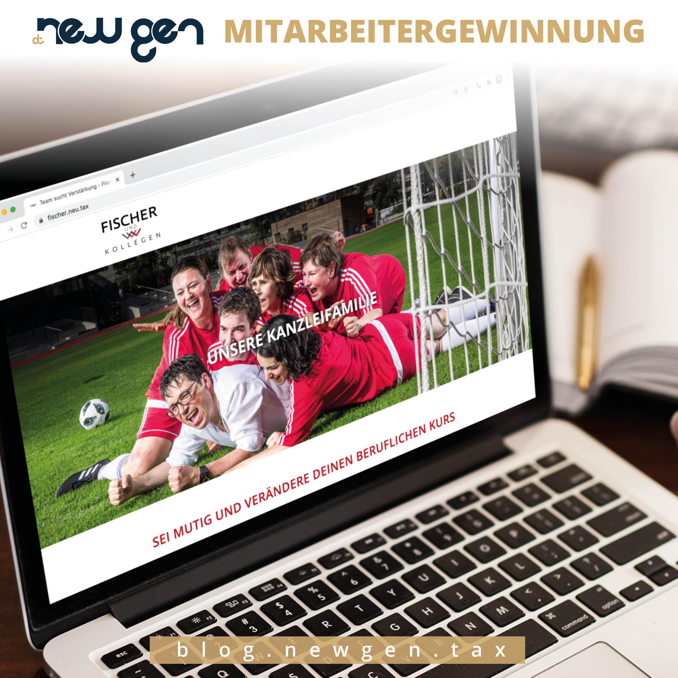 newgen Mitarbeitergewinnung –Fischer & Kollegen GmbH & Co. KG Steuerberatungsgesellschaft
