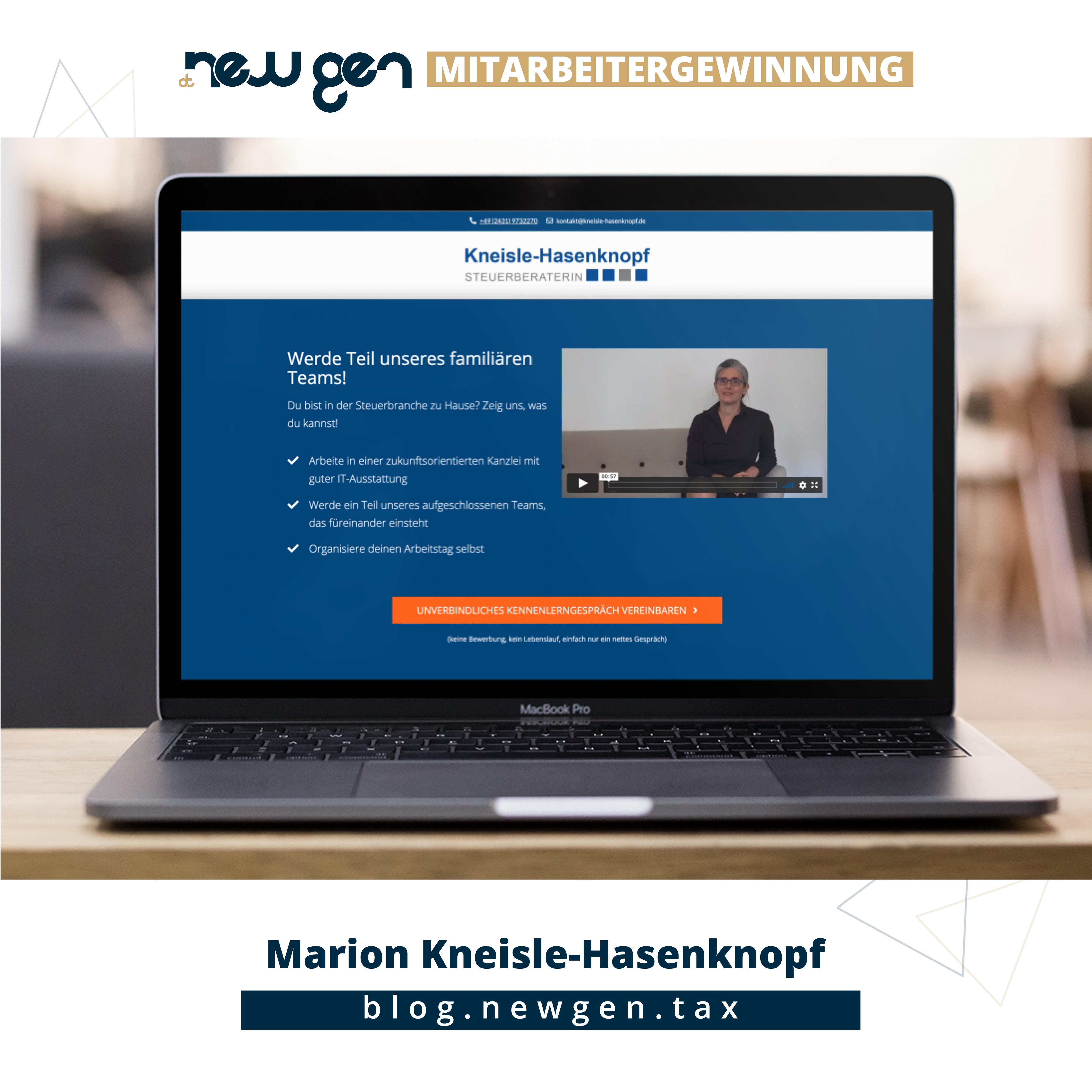 new gen Mitarbeitergewinnung - Marion Kneisle-Hasenknopf