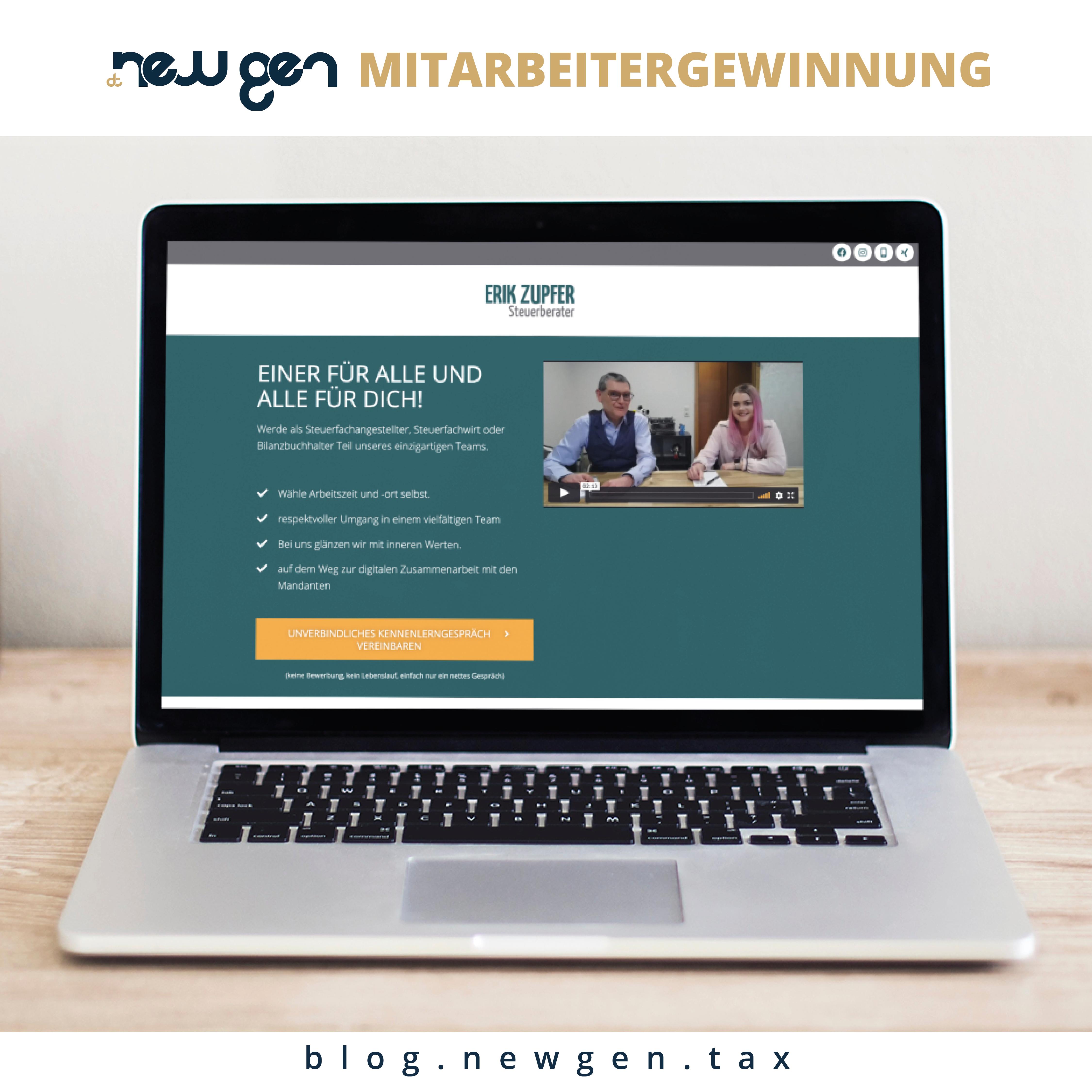new gen Mitarbeitergewinnung - Team Zupfer